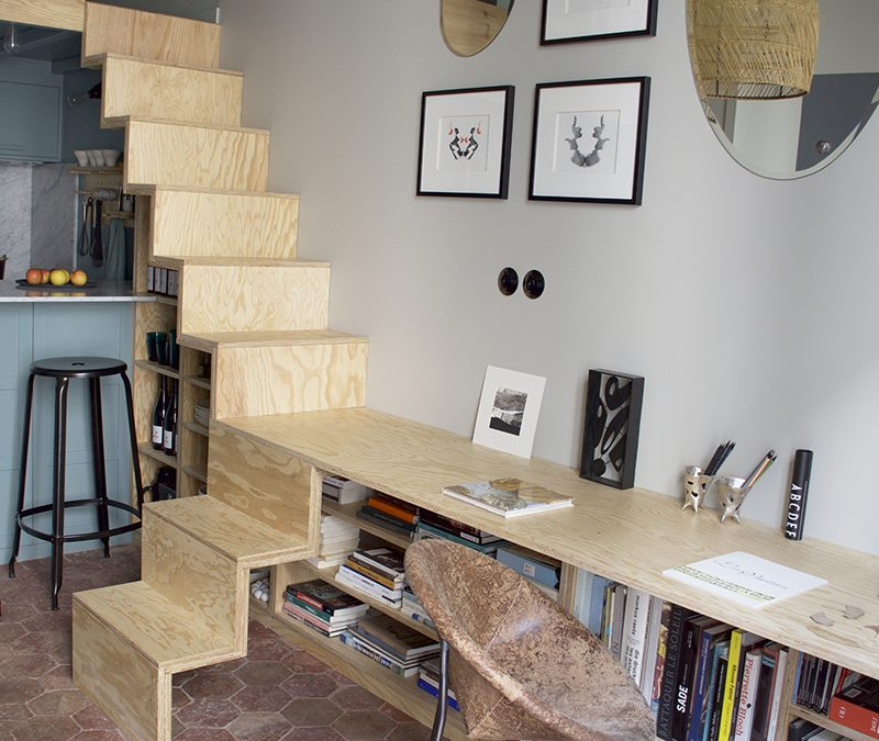 Microapartment Transformation: A Touch of Élan by Marianne Evennou