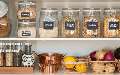 Apartment Design Ideas: Pointers for a Pretty Pantry