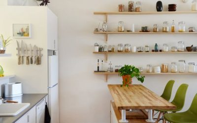 Space-Saving Furniture: Stylish Kitchen Organizers
