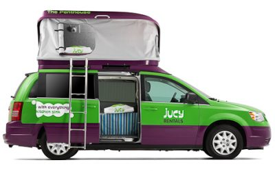 Space Optimized: Travel in Style with JUCY Rentals