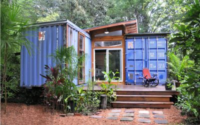 Transformation Tuesday: Battered Container Turned Into Minimalist House