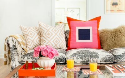 Small Home Interior Design: a Pop of Color to Your Living Space