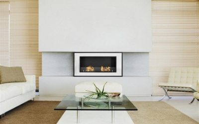 Decor Ideas: Fireplaces for a Minimalist Apartment