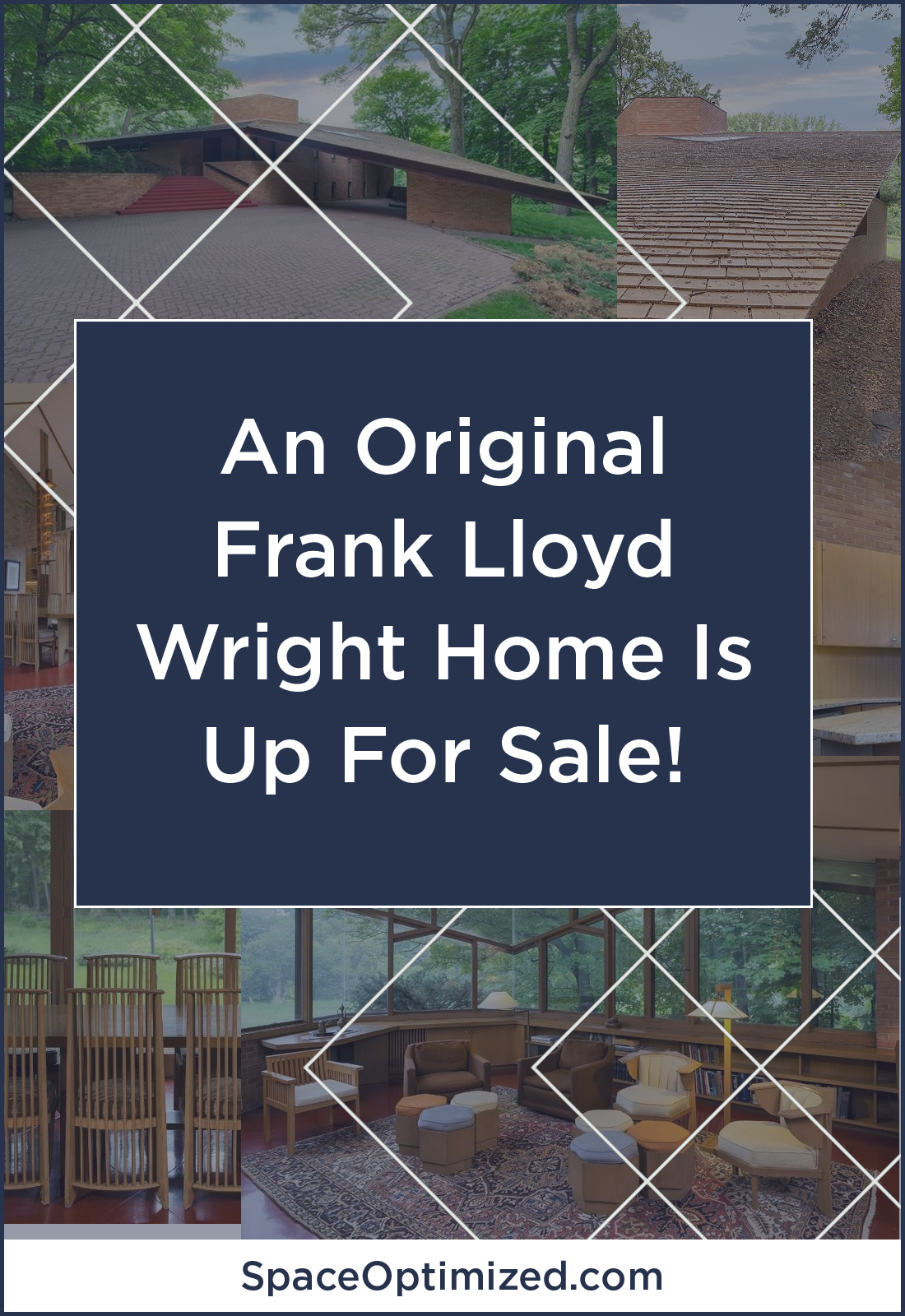 Tiny home small home space optimized for Frank lloyd wright parents