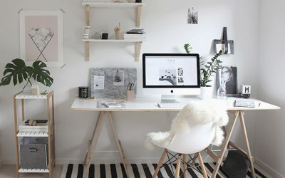 6 Smart and Stylish Home Office Ideas for a Microapartment