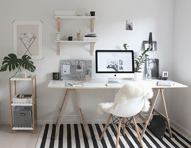 Superieur 6 Smart And Stylish Home Office Ideas For A Microapartment