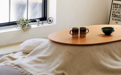 The Kotatsu Table: Turn Your Tiny Home into a Toasty, Cozy Fort This Winter Season