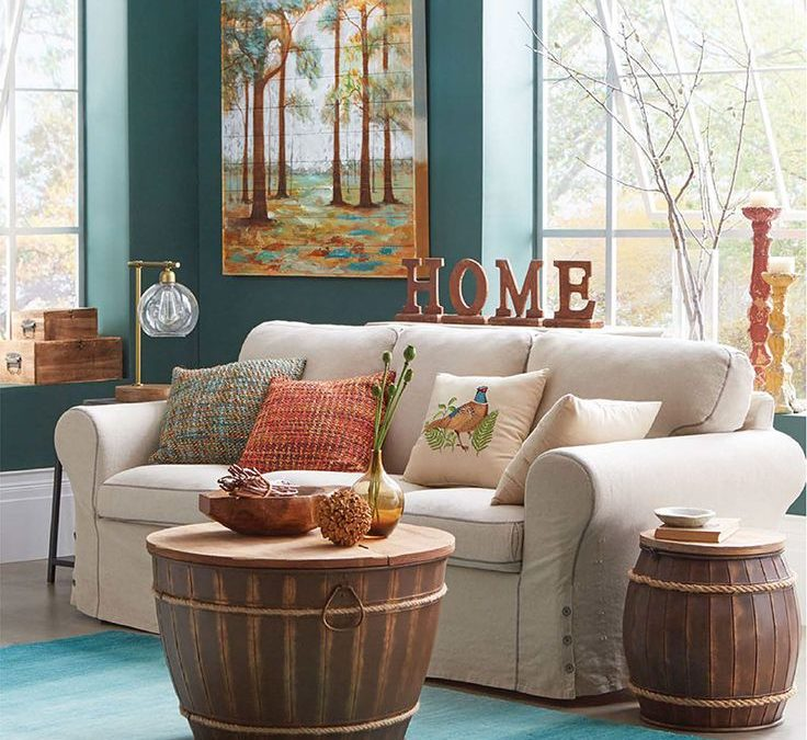 Fall Home Decorating Ideas: Small Apartment Design