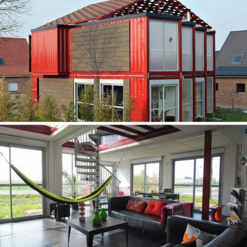 Big Living In Container Spaces: Tiny Home Living: Top 10 Beautiful Shipping Container