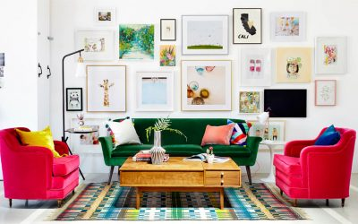 Small Apartment Design: 10 Styling Tips For That Empty Space Behind the Sofa