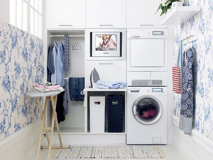 Small Apartment Ideas: 8 Clever Storage Tips for Small Laundry Rooms