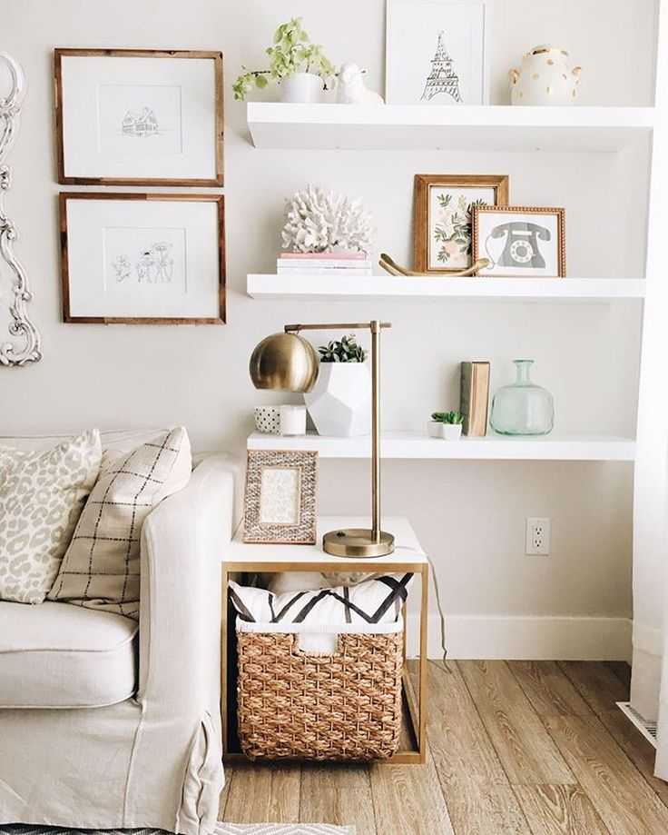 Decorating Small Living Room: 10 Small Home Interior Design Ideas For Styling Awkward