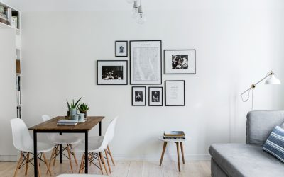 How to Squeeze In a Dining Room in a Tiny Apartment