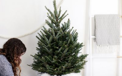 Small Apartment Hacks: DIY Scandi-Chic Christmas Tree