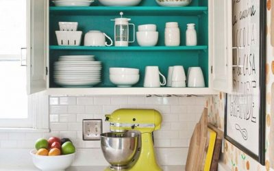 Small Apartment Ideas: 10 Ways to Add Color to Your Kitchen