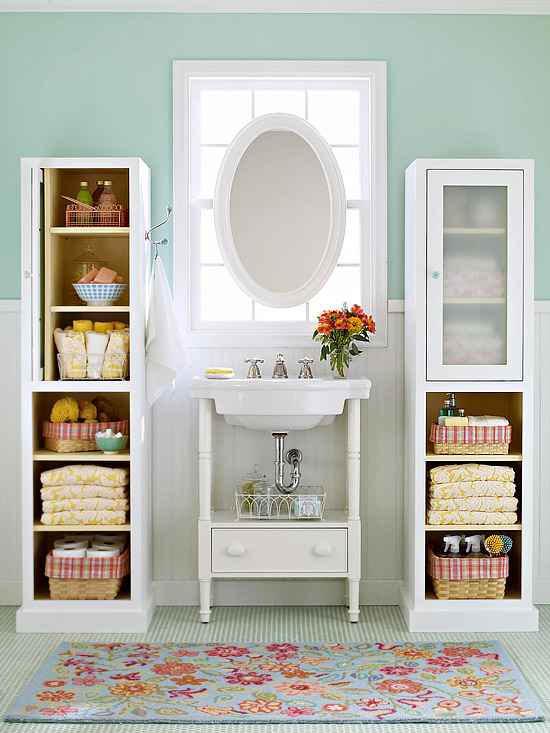 11 Small Apartment Ideas For Organizing A Drawer Less Bathroom Eoptimized