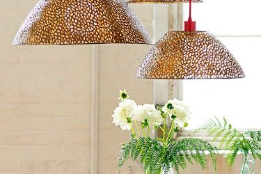 Easy Small Apartment Hack: DIY Pendant Light Trio