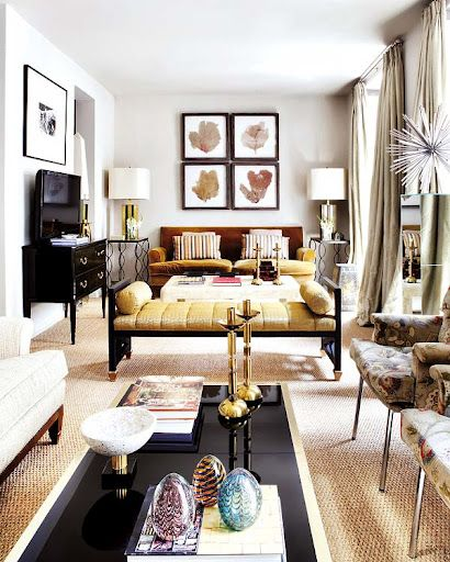 Small Apartment Styling Tips: Decorating Long, Narrow Living Room ...