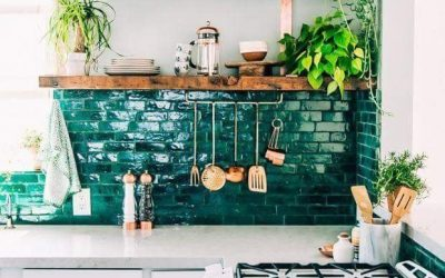 Ugly Kitchen? 10 Rental-Friendly Small Apartment Design Tips for a Pretty Kitchen