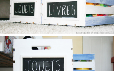 Small Apartment DIY: Rolling Toy Organizers by The DIY Dreamer