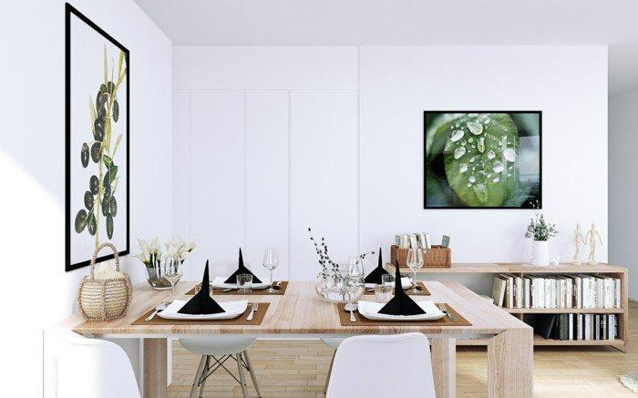 9 Small Apartment Design Ideas for a Refreshed Dining Room