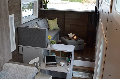 Pursuit Tiny House A Getaway Home On Wheels Spaceoptimized