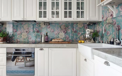 8 Clever Apartment Design Ideas to Upgrade Your (Boring) Backsplash