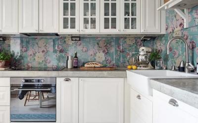 8 Clever Apartment Design Ideas to Upgrade Your (Boring) Backsplash