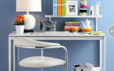 8 Easy Organizing Tips for Your Small Apartment Office