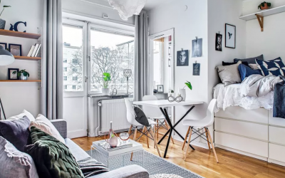 Optimizing Functionality in a Small Studio Apartment Layout