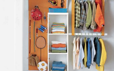 8 Tiny Home Ideas for Organizing Children's Closets