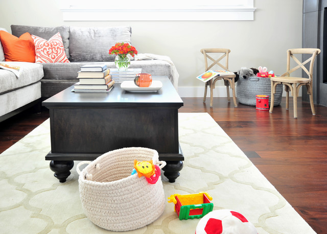 baby-friendly living room