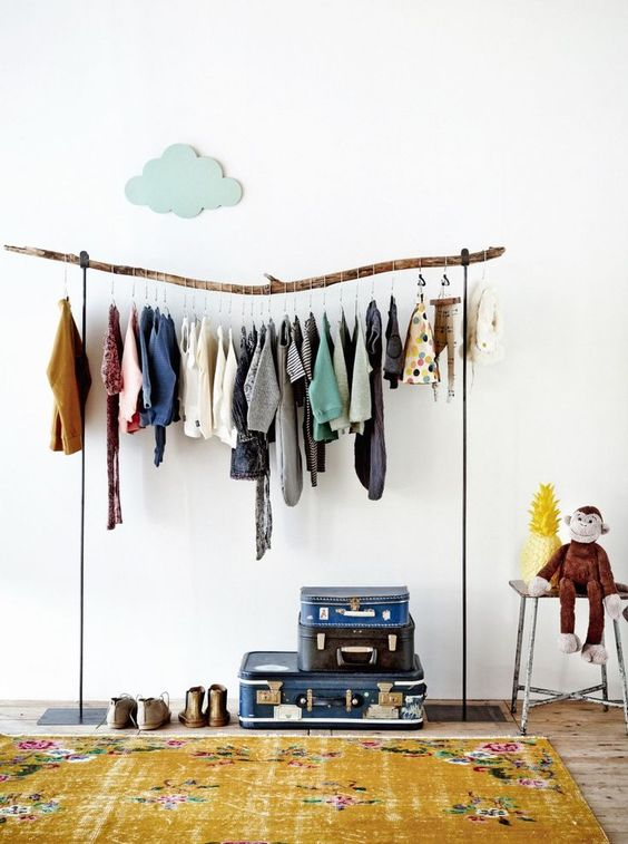 . Ingenious Storage Solutions for Kids  Bedrooms without Closets